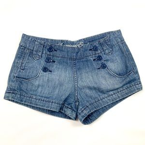 🦩3/$23 | American Eagle  Denim Shorts Button Fly